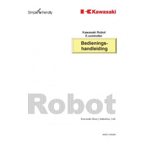 Bedieningshandleiding Kawasaki Robots